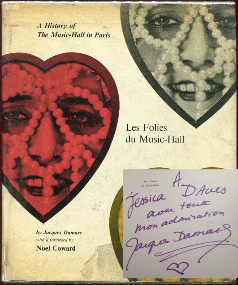 Les Folies du Music Hall: A History of the Music-Hall in Paris. Jacques Damase.