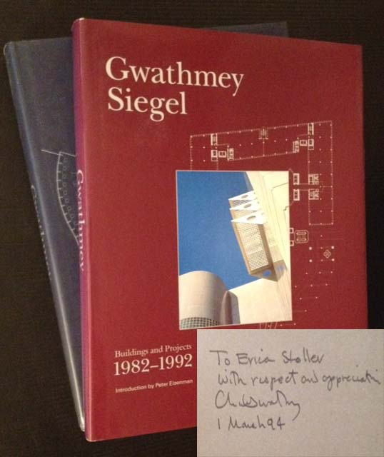 Gwathmey Siegel: Buildings and Projects 1982-1992 AND 1992-2002 (2 Vols.). Ed Brad Collins.