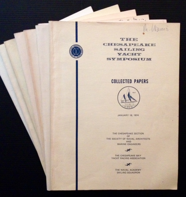 The Chesapeake Sailing Yacht Symposium--Collected Papers (7 Vols.).