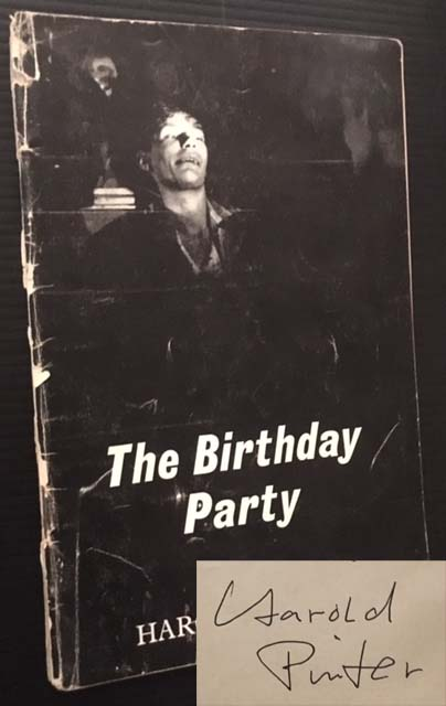 The Birthday Party: A Play in Three Acts. Harold Pinter.