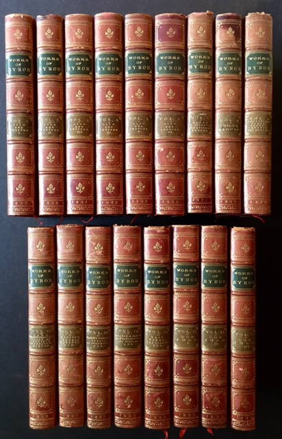 The Works of Lord Byron: With His Letters and Journals, and His Life, by Thomas Moore, Esq. (Complete in 17 Vols.). ron.