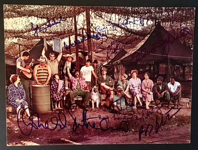 "A Signed Photograph from the Film ""MASH"""