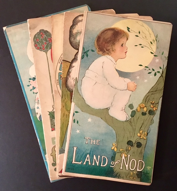 5 Children's Titles from the Stecher Lithography Company of Rochester, NY. Anna Lauer Margaret Evans Price, Isabel C. Byrum.