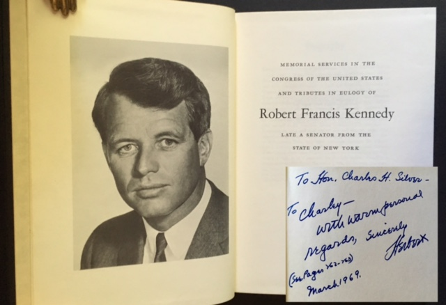 Memorial Services in the Congress of the United States and Tributes in Eulogy of Robert Francis Kennedy: Late a Senator from the State of New York.