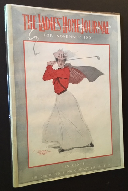 The Ladies' Home Journal --November 1901 (Cover of a Woman Golfer).
