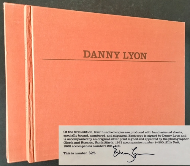 Pictures from the New World (The Signed/Limited Edition in Slipcase). Danny Lyon.
