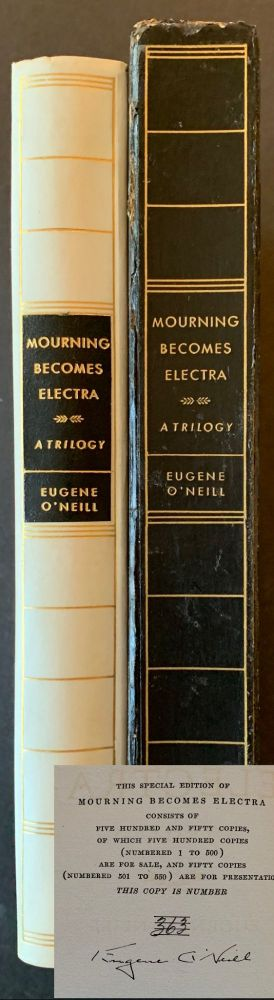 Mourning Becomes Electra -- The Signed/Limited (In the Original Printed Slipcase). Eugene O'Neill.