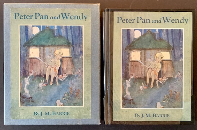 Peter Pan and Wendy (In the Publisher's Pictorial Box). J M. Barrie.