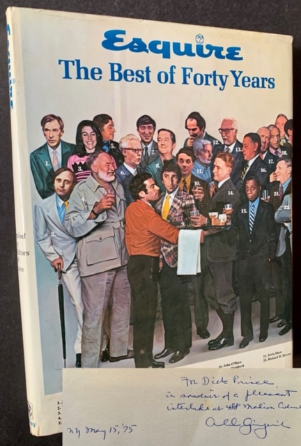 Esquire: The Best of Forty Years (Inscribed by Arnold Gingrich)
