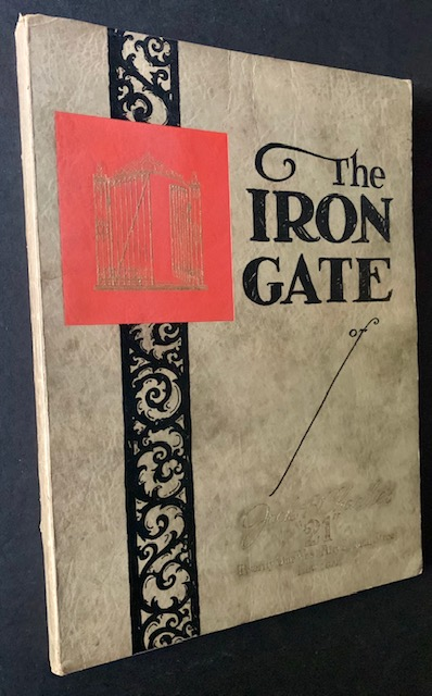 """The Iron Gate of Jack & Charlie's """"21"""": Thru Which Is Presented a Vivid Portrayal of a Unique Institution--by a Distinguished Group of Authors and Artists"""