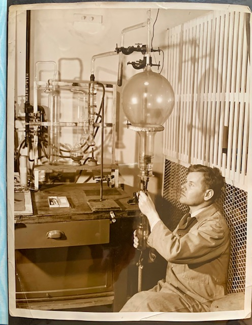 Original Photo Album of W.C. Lilliendahl of Westingouse (A Key Scientist in Uranium Research Whose Work Contributed to the Establishment of the Manhattan Project and Ultimately of the Atomic Bomb)