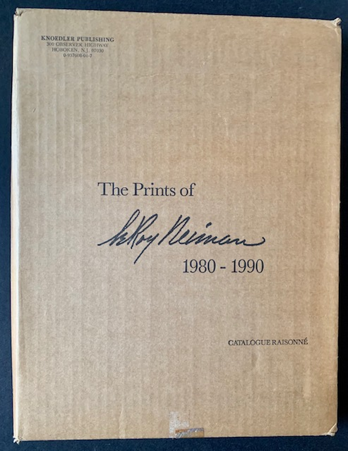 The Prints of LeRoy Neiman: A Catalogue Raisonne of Serigraphs and Etchings 1980-1990 (In the Publisher's Original Shipping Carton)