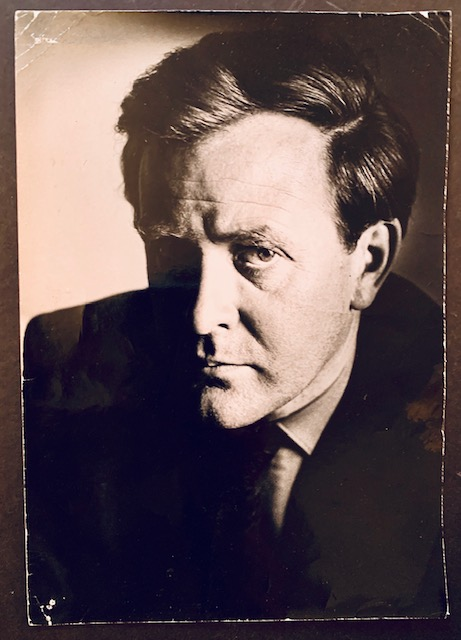 Early Photograph of John Le Carre by German Photographer Horst Tappe