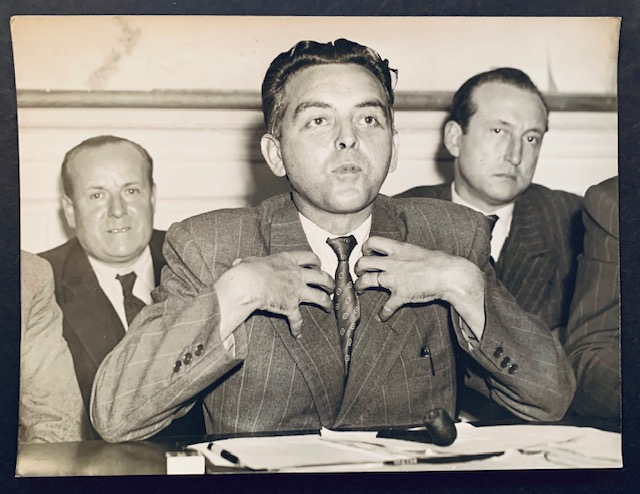 1947 Press Photograph of M. Tanguy-Frigent, the French Minister of Agriculture