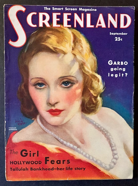 Screenland -- September 1931 (The Tallulah Bankhead Cover)