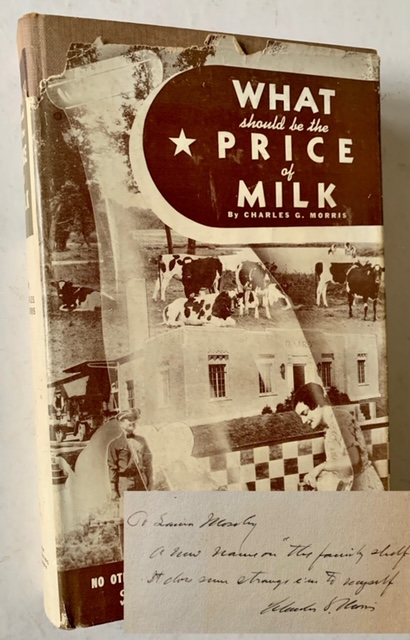 What Should Be the Price of Milk? Charles G. Morris.