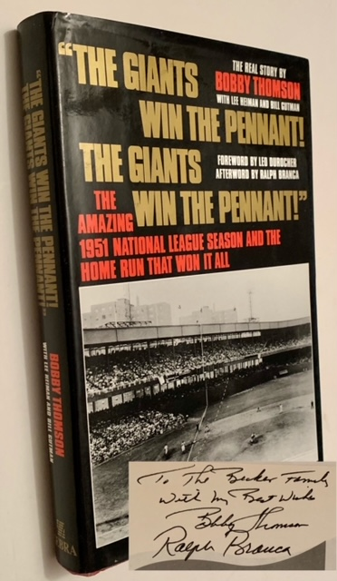 The Giants Win the Pennant! The Giants Win the Pennant! with Lee Heiman, Bill Gutman.