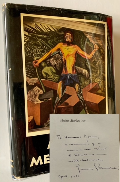 Modern Mexican Art (Inscribed by Author and in Dustjacket). Laurence E. Schmeckebier.