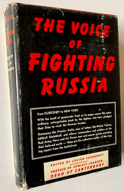 The Voice of Fighting Russia:. Lucien Zacharoff.