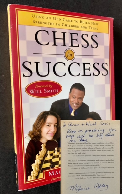 Chess for Success. Maurice Ashley.