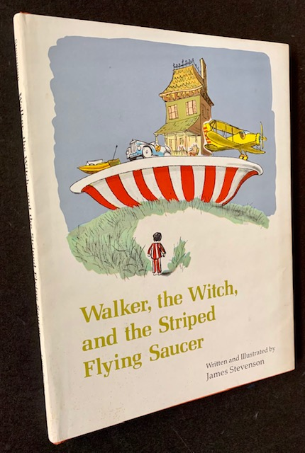 Walker, the Witch, and the Striped Flying Saucer. James Stevenson.