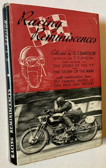 Racing Reminiscences by Riders of the Past and Present. G S. Davison.