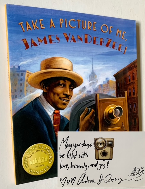 Take a Picture of Me, James Van Der Zee! Andrea Loney.