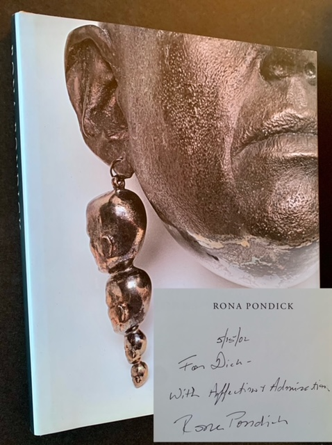 Rona Pondick: Works 1986-2001 (Inscribed to Dick Polich)