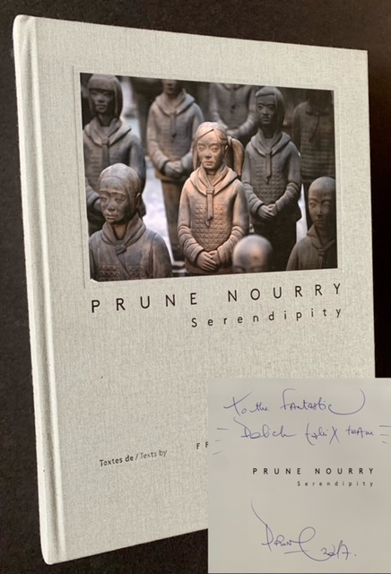 Prune Nourry: Serendipity (Inscribed to Dick Polich). Francois Ansermet.