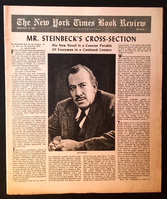 The New York Times Book Review--February 16th, 1947.