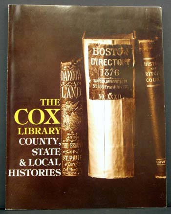 The Cox Library: County, State & Local Histories.