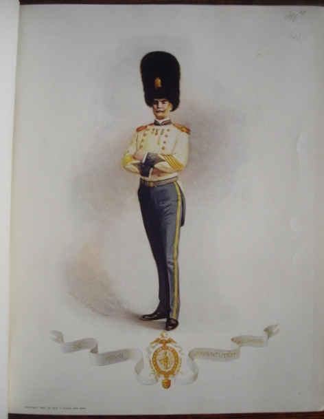Souvenir of the Old Guard of New York City 1902.