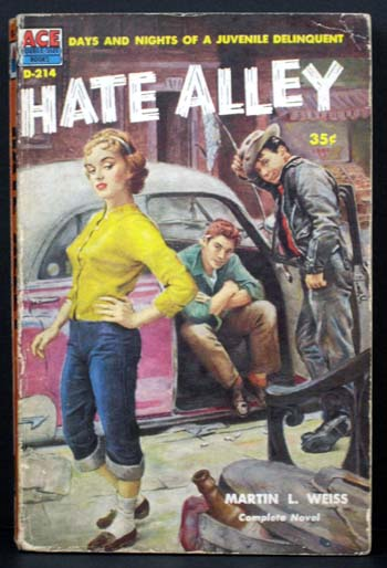 Hate Alley. Martin L. Weiss.