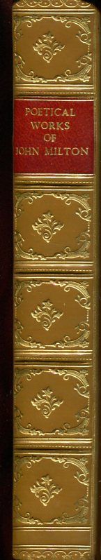 Poetical Works of John Milton (Fine Binding).