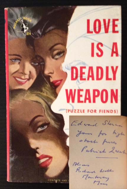 Love Is a Deadly Weapon (Puzzle for Fiends). Patrick Quentin.