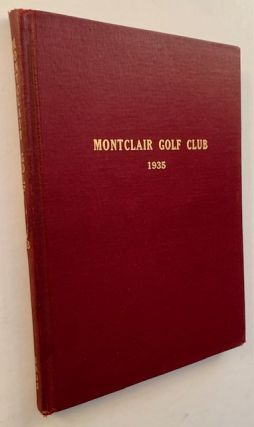 Montclair Golf Club 1935
