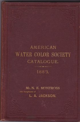 Sixteenth Annual Exhibition of the American Water Color Society (Illustrated Catalogue