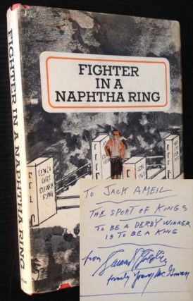 Fighter in a Naphtha Ring. Samuel Goldberg