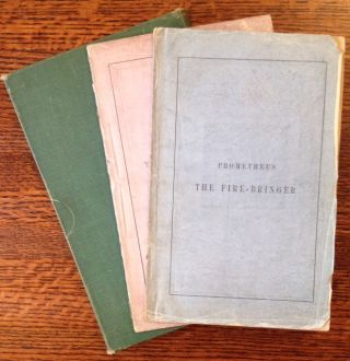 Prometheus the Fire-Bringer (2 Copies). Richard Henry Horne