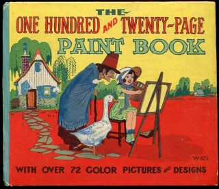 The One Hundred and Twenty-Page Paint Book