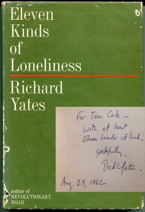 Eleven Kinds of Loneliness. Richard Yates