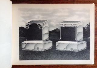 Book of 63 Design Plates (of Tomb Stones