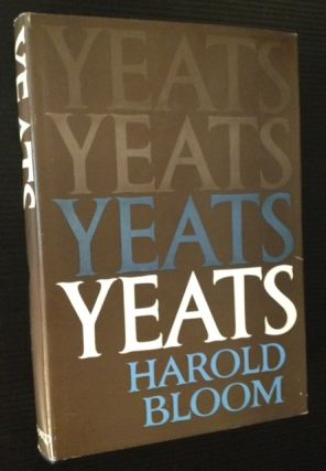 Yeats. Harold Bloom