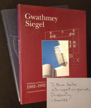 Gwathmey Siegel: Buildings and Projects 1982-1992 AND 1992-2002 (2 Vols.). Ed Brad Collins