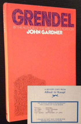 Grendel (Review Copy). John Gardner