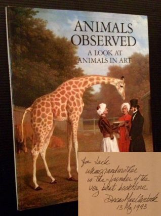 Animals Observed: A Look at Animals in Art. Dorcas MacClintock