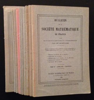 Bulletin de la Societe Mathematique de France (Tomes 85-88, in 11 Vols