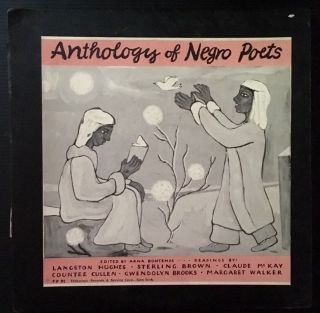 Anthology of Negro Poets (LP Record). Ed Arna Bontemps