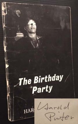 The Birthday Party: A Play in Three Acts. Harold Pinter