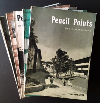 Pencil Points:The Magazine of Architecture/Pencil Points: Progressive Architecture (1944 and...